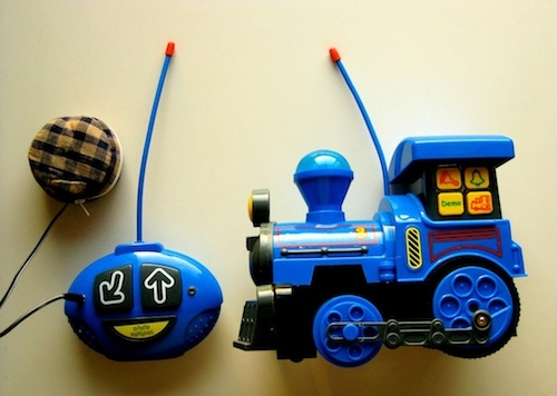 modified toy train