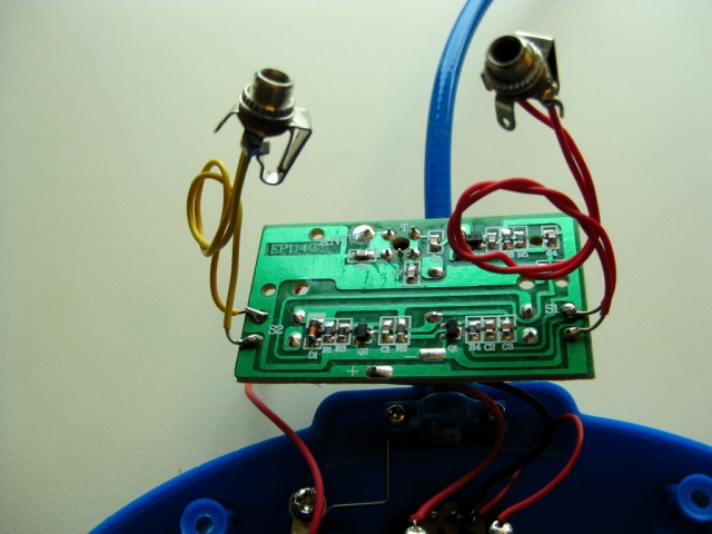 circuit adapted with switch jacks